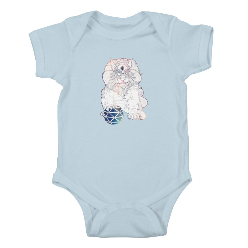 Shisa Kids Baby Bodysuit by Lenny B. on Threadless