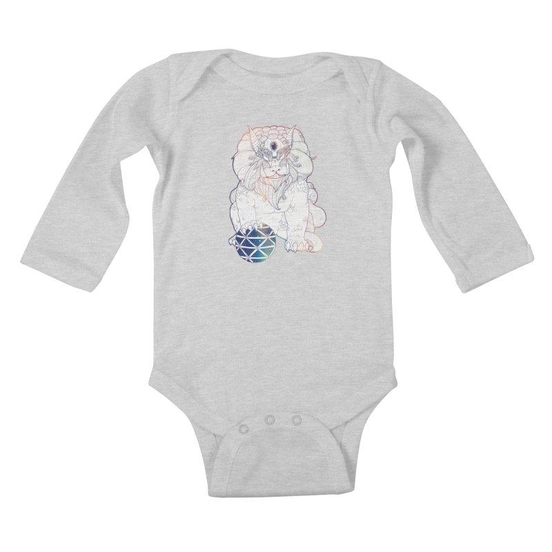 Shisa Kids Baby Longsleeve Bodysuit by Lenny B. on Threadless