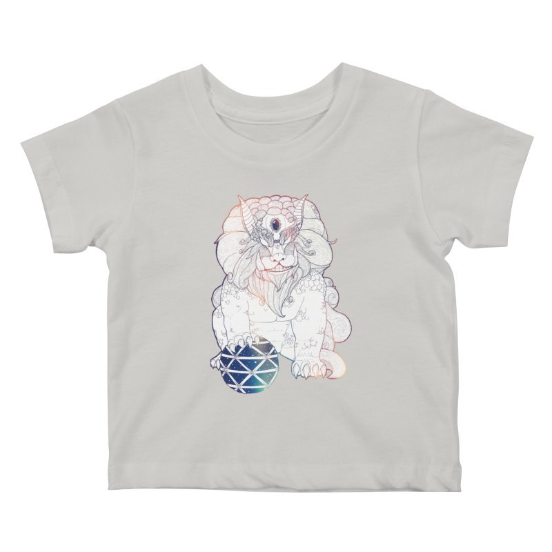 Shisa Kids Baby T-Shirt by Lenny B. on Threadless