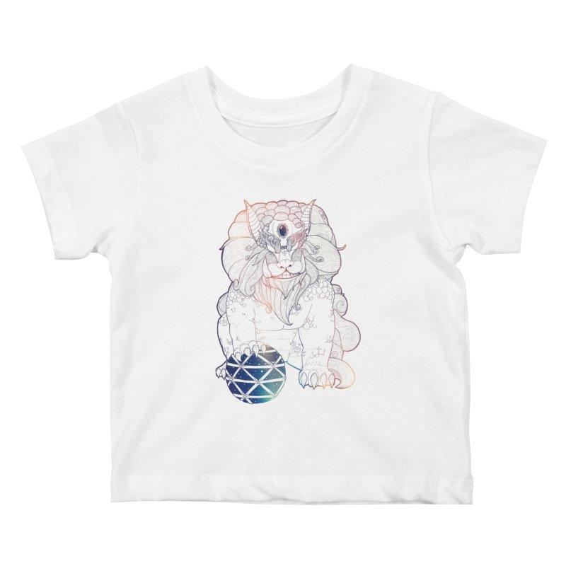 Shisa Kids Baby T-Shirt by Lenny B. on Threadless
