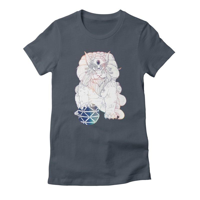Shisa Women's T-Shirt by Lenny B. on Threadless