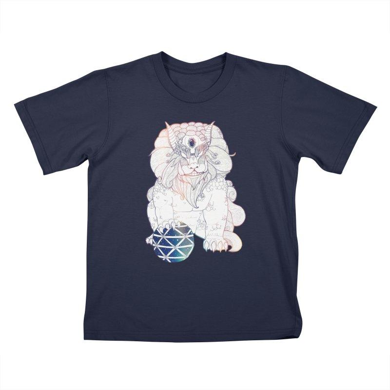 Shisa Kids T-Shirt by Lenny B. on Threadless