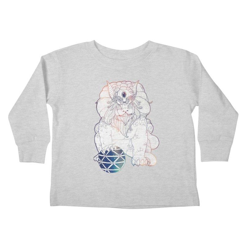 Shisa Kids Toddler Longsleeve T-Shirt by Lenny B. on Threadless
