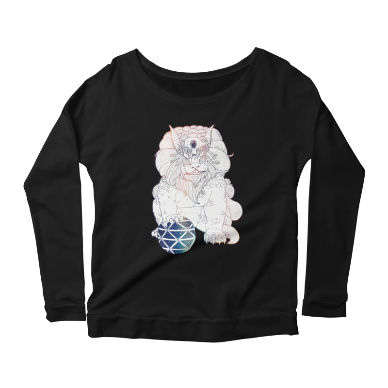 Shisa Women's Longsleeve Scoopneck  by Lenny B. on Threadless