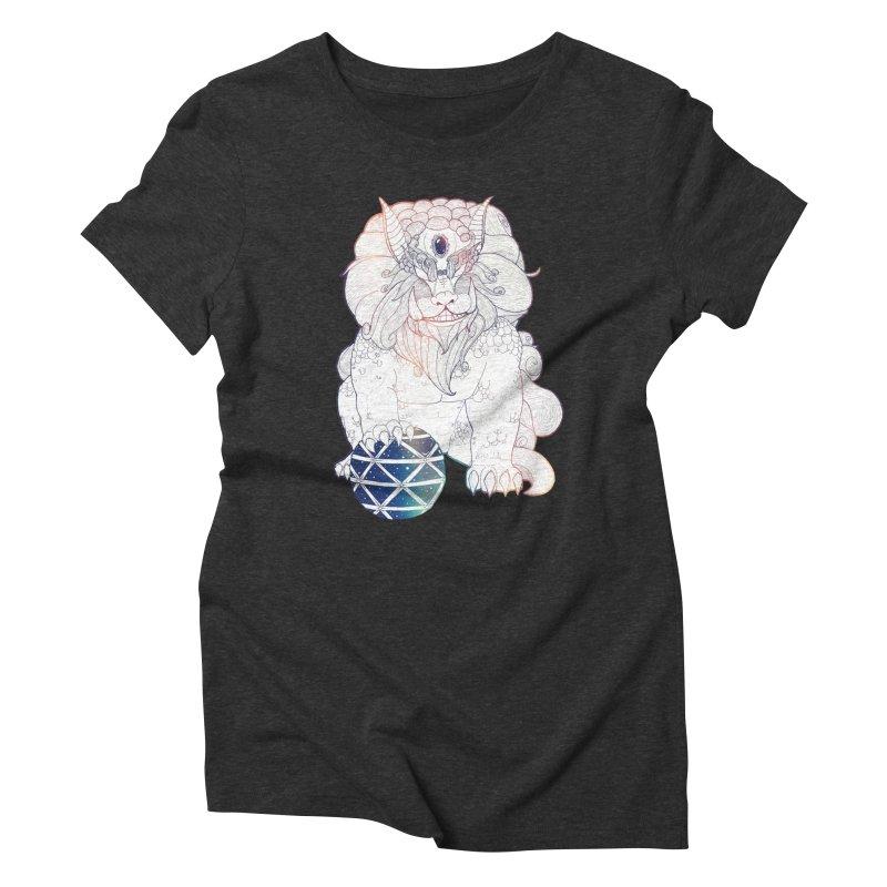 Shisa Women's Triblend T-Shirt by Lenny B. on Threadless