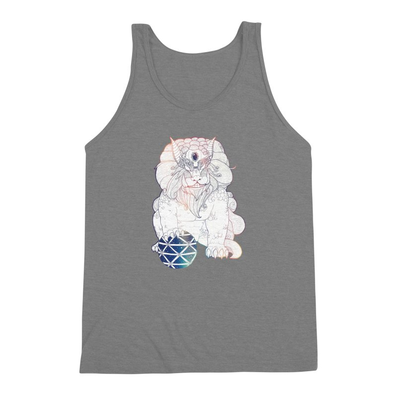 Shisa Men's Triblend Tank by Lenny B. on Threadless