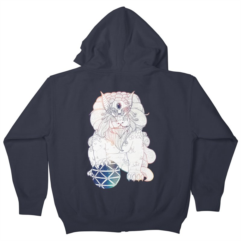 Shisa Kids Zip-Up Hoody by Lenny B. on Threadless