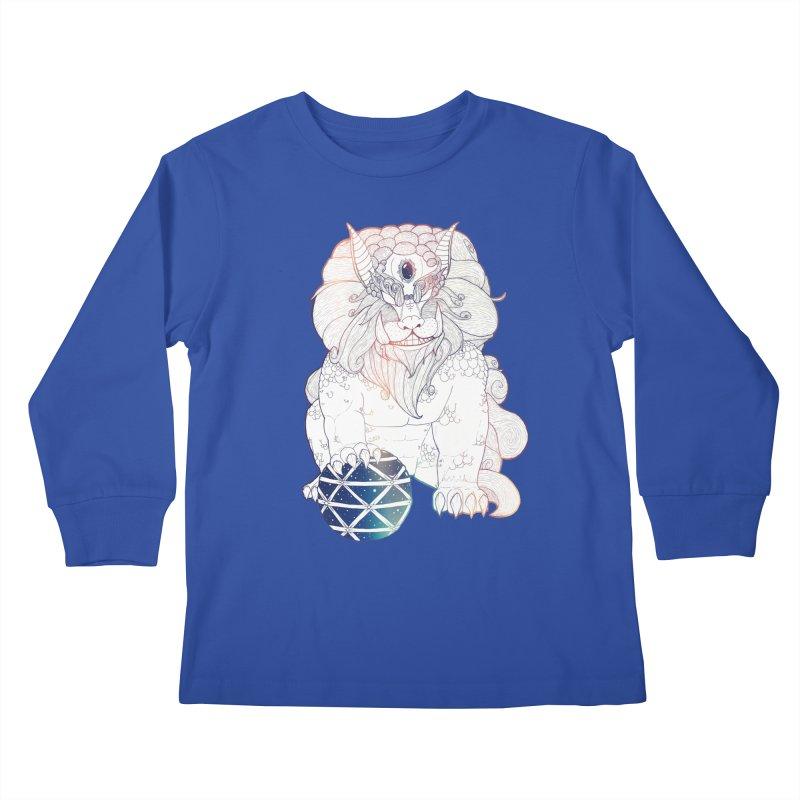 Shisa Kids Longsleeve T-Shirt by Lenny B. on Threadless