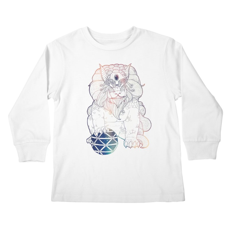 Shisa Kids Longsleeve T-Shirt by Lenny B. on Threadless