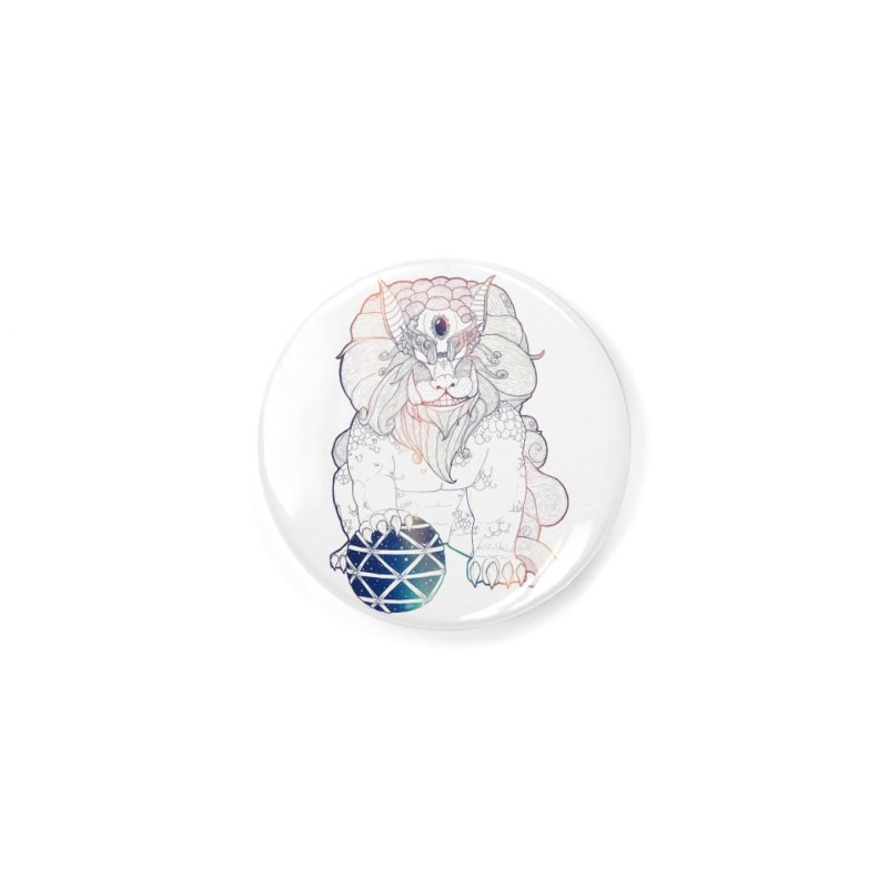 Shisa Accessories Button by Lenny B. on Threadless