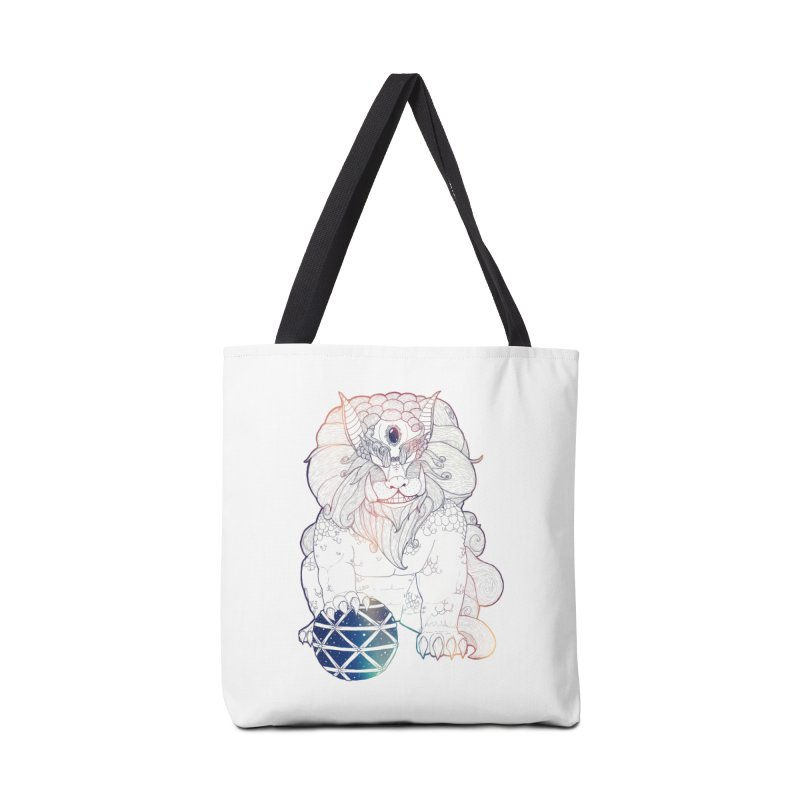 Shisa Accessories Bag by Lenny B. on Threadless