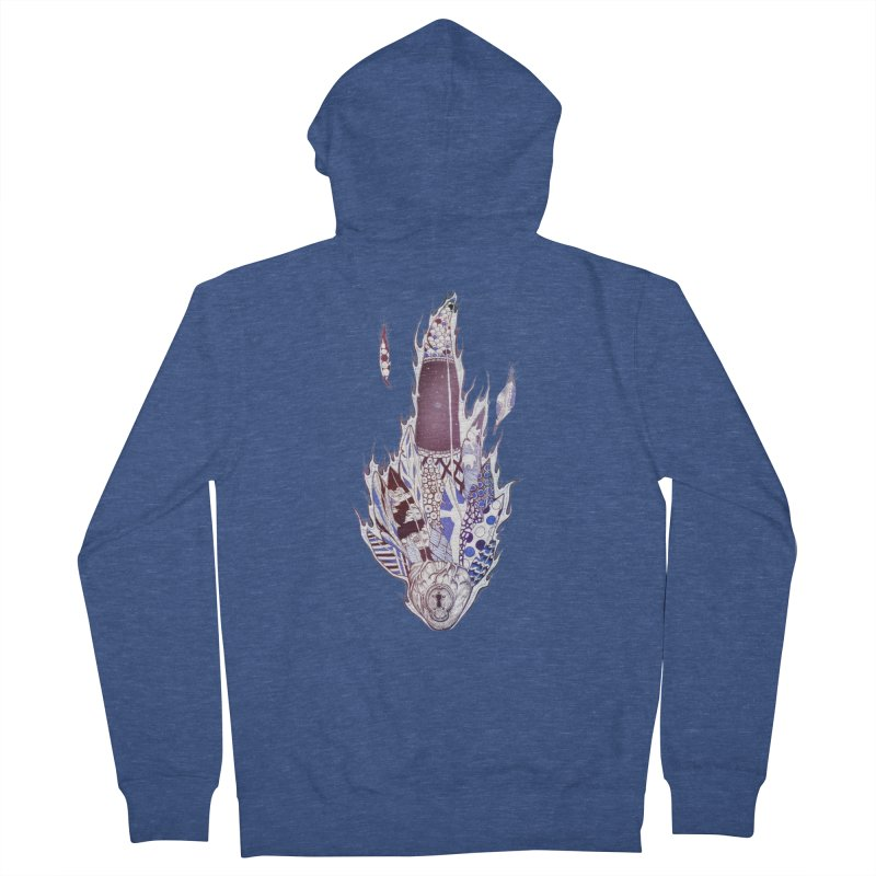 Mysteries of the Heart Men's Zip-Up Hoody by Lenny B. on Threadless