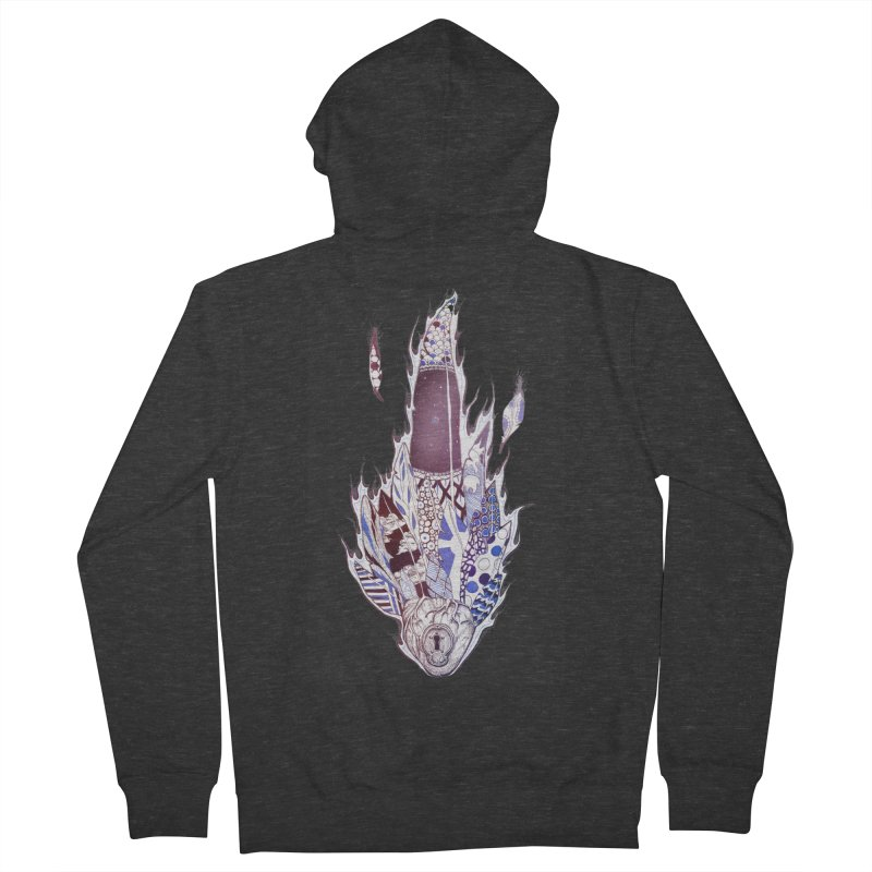 Mysteries of the Heart Women's Zip-Up Hoody by Lenny B. on Threadless