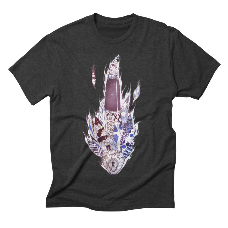 Mysteries of the Heart Men's Triblend T-shirt by Lenny B. on Threadless
