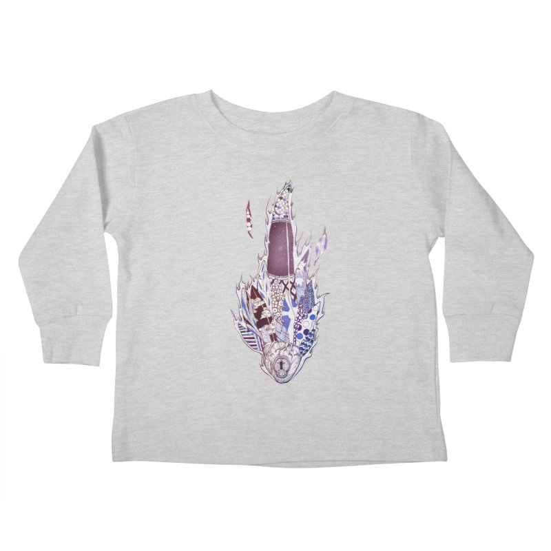 Mysteries of the Heart Kids Toddler Longsleeve T-Shirt by Lenny B. on Threadless