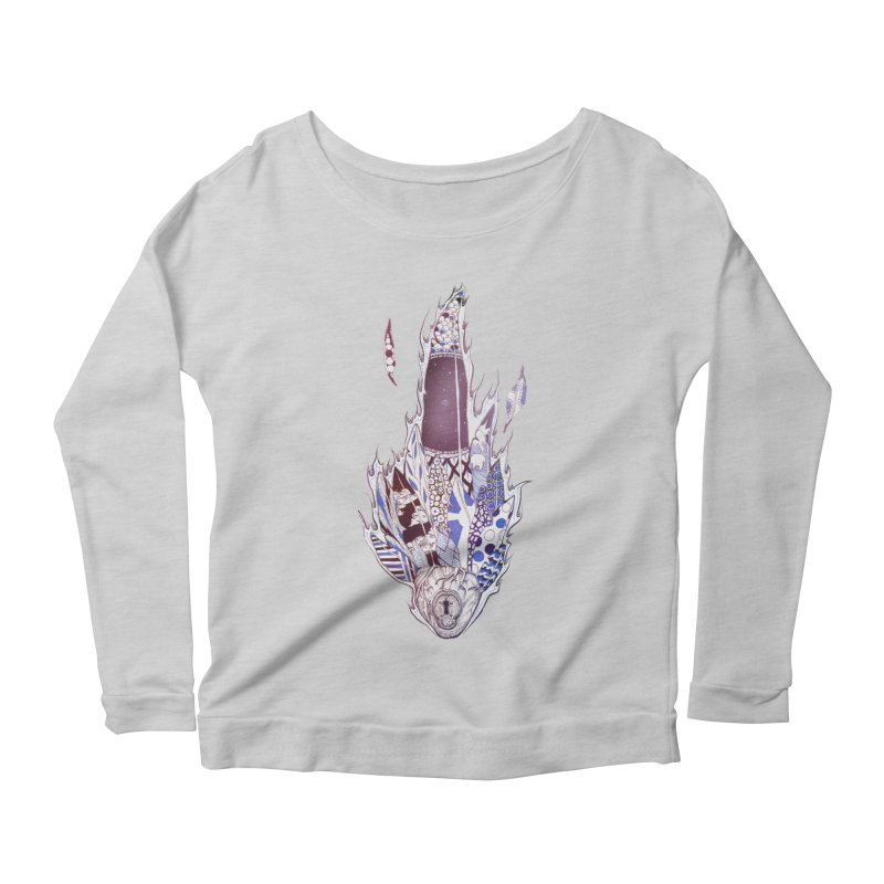Mysteries of the Heart Women's Longsleeve Scoopneck  by Lenny B. on Threadless