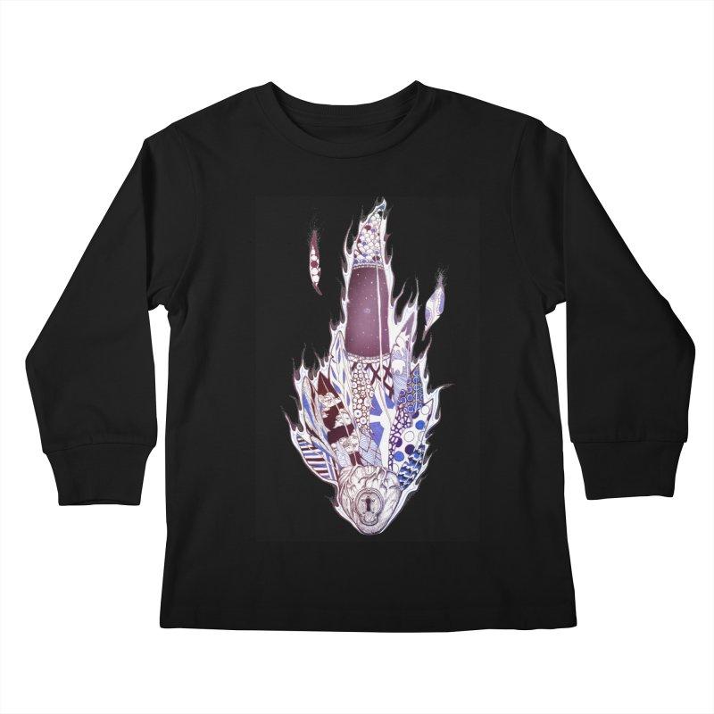 Mysteries of the Heart Kids Longsleeve T-Shirt by Lenny B. on Threadless