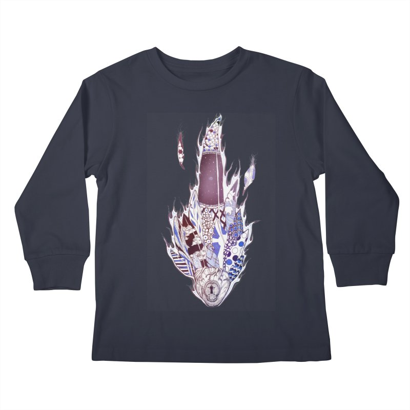 Mysteries of the Heart Kids Longsleeve T-Shirt by Lenny B. on Threadless