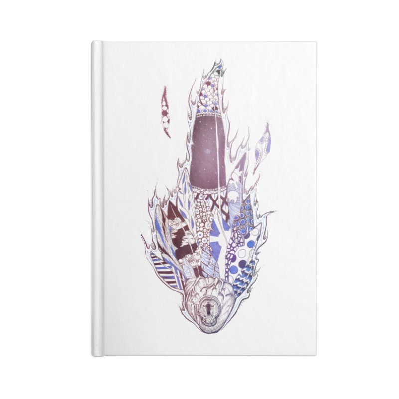 Mysteries of the Heart Accessories Notebook by Lenny B. on Threadless