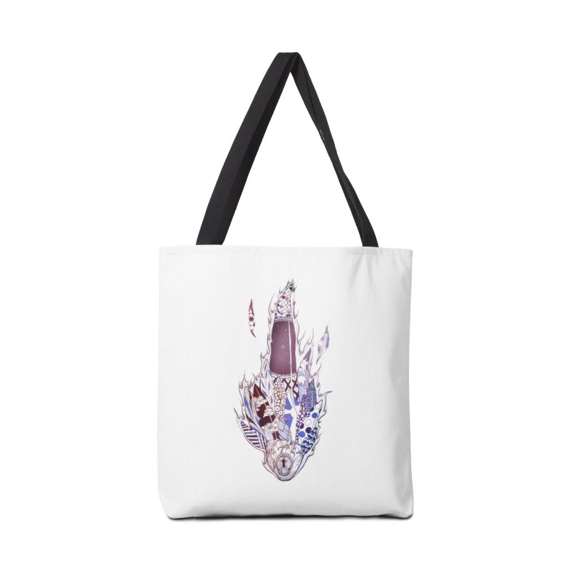 Mysteries of the Heart Accessories Bag by Lenny B. on Threadless