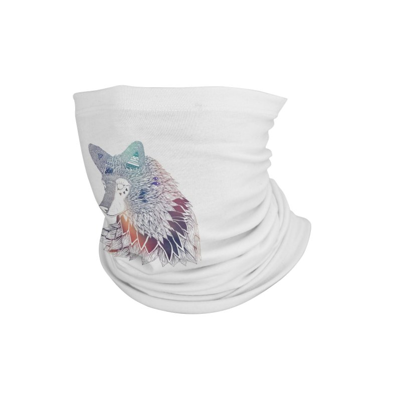 Lone Wolf Accessories Neck Gaiter by Lenny B. on Threadless