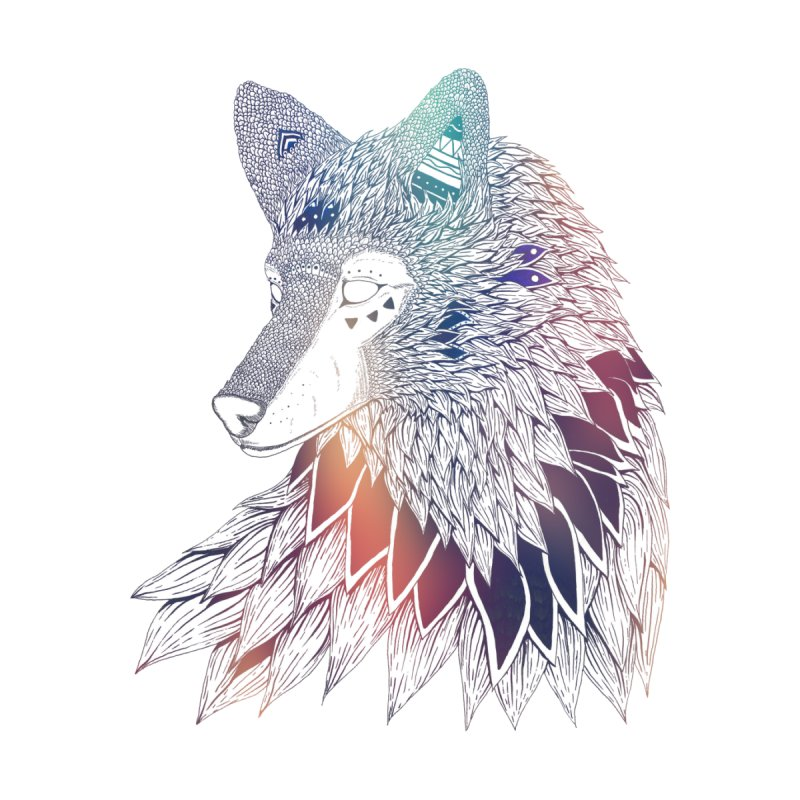 Lone Wolf None  by Lenny B. on Threadless