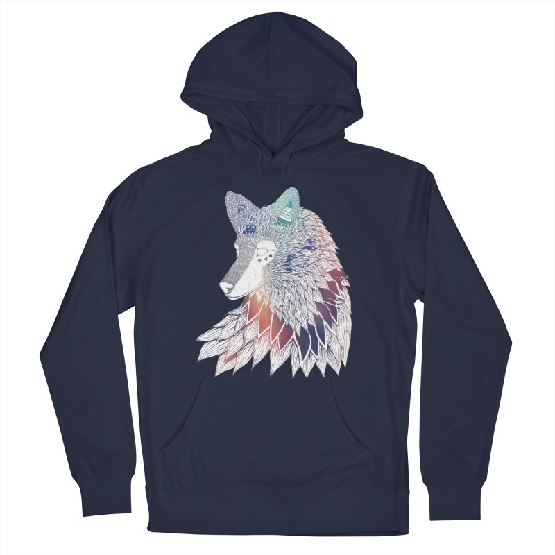 Lone Wolf Men's Pullover Hoody by Lenny B. on Threadless