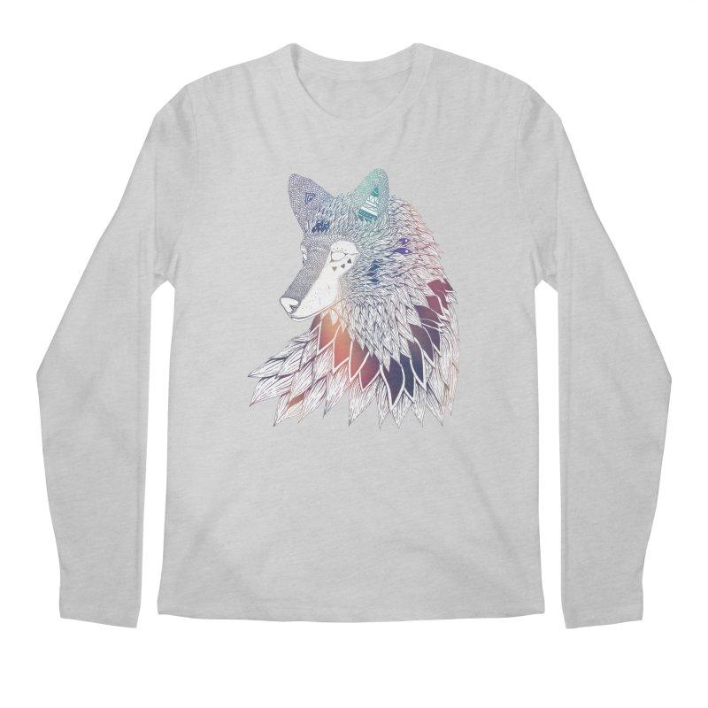 Lone Wolf Men's Longsleeve T-Shirt by Lenny B. on Threadless