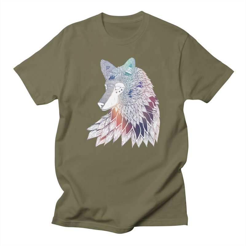 Lone Wolf Men's T-Shirt by Lenny B. on Threadless