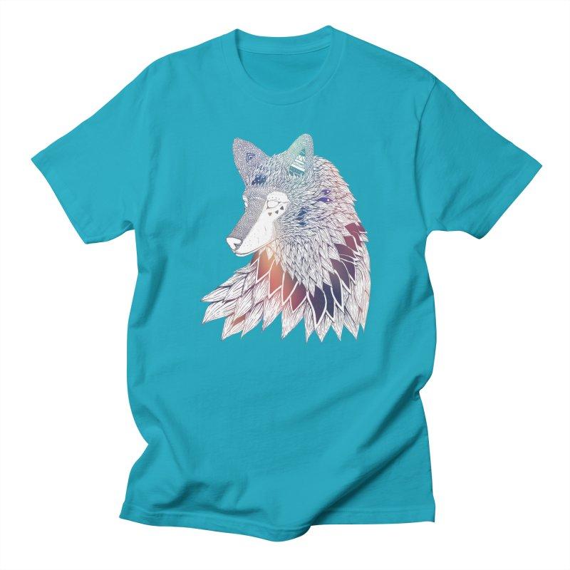 Lone Wolf Men's T-shirt by Lenny B. on Threadless