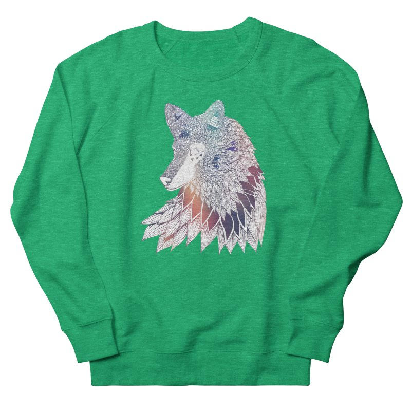 Lone Wolf Women's Sweatshirt by Lenny B. on Threadless