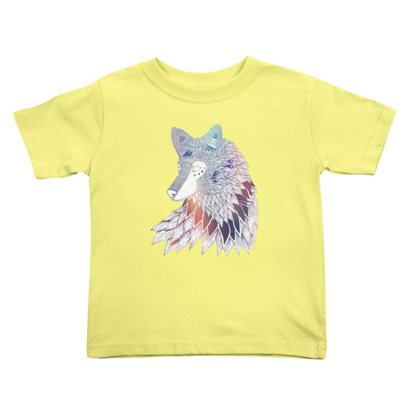 Lone Wolf Kids Toddler T-Shirt by Lenny B. on Threadless