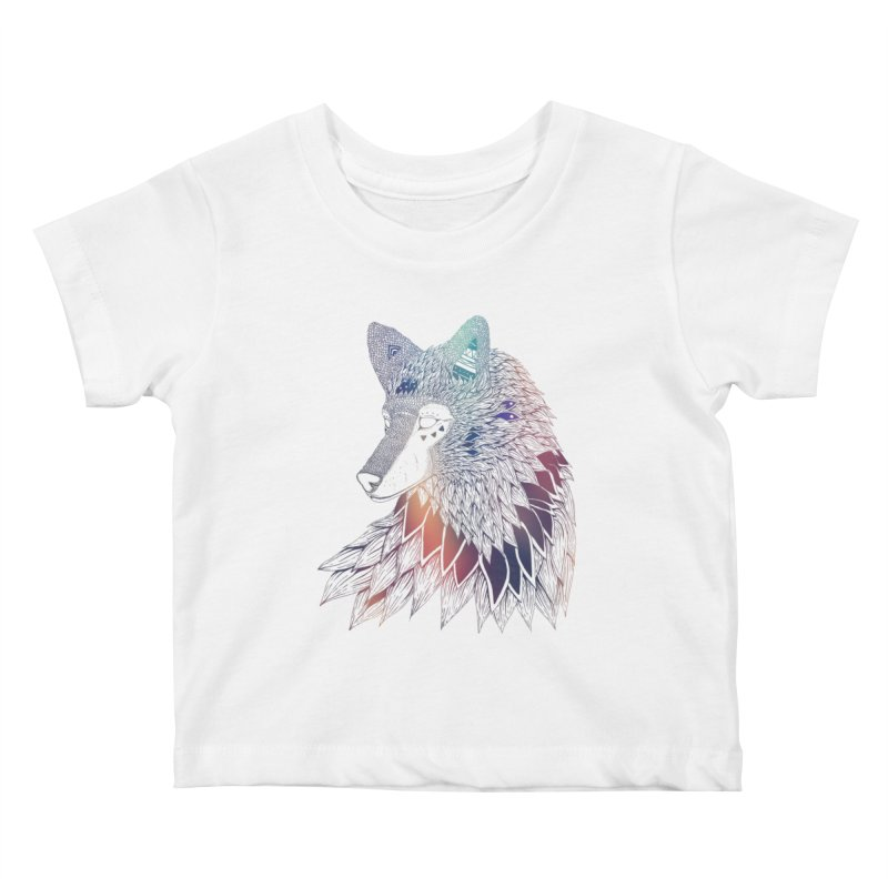Lone Wolf Kids Baby T-Shirt by Lenny B. on Threadless