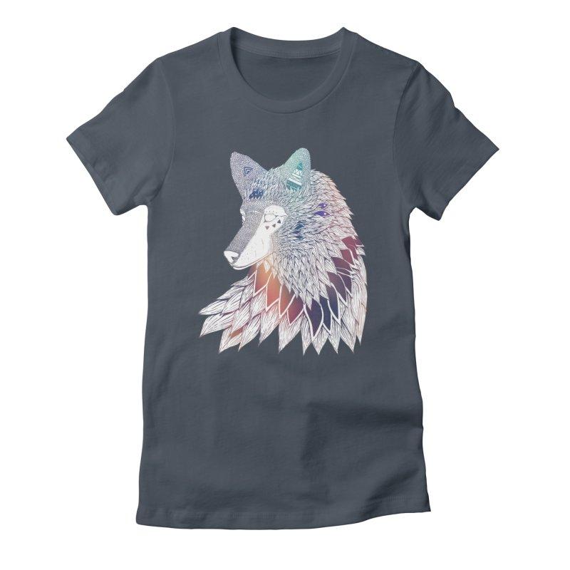 Lone Wolf Women's T-Shirt by Lenny B. on Threadless