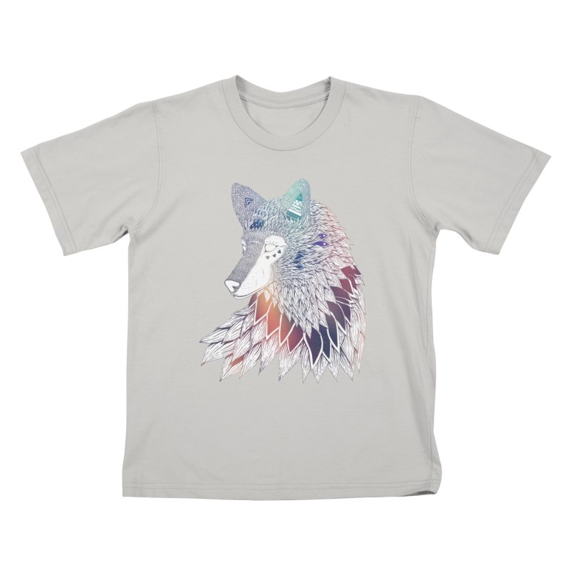 Lone Wolf Kids T-shirt by Lenny B. on Threadless