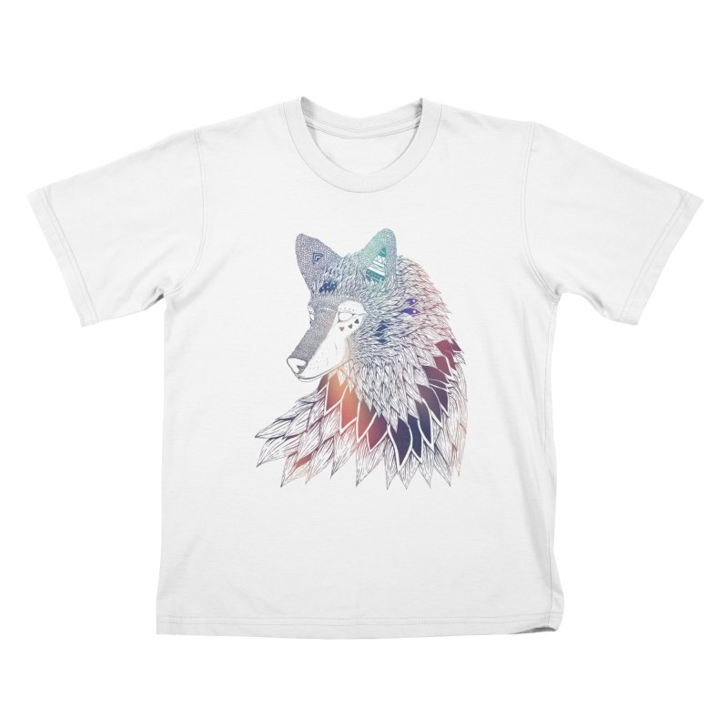 Lone Wolf Kids T-Shirt by Lenny B. on Threadless