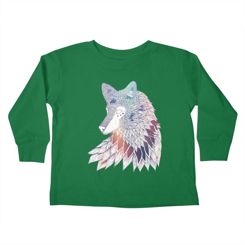 Lone Wolf Kids Toddler Longsleeve T-Shirt by Lenny B. on Threadless