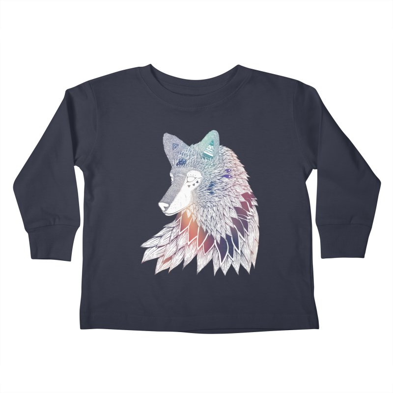 Lone Wolf Kids Toddler Longsleeve T-Shirt by Lenny B. on Threadless