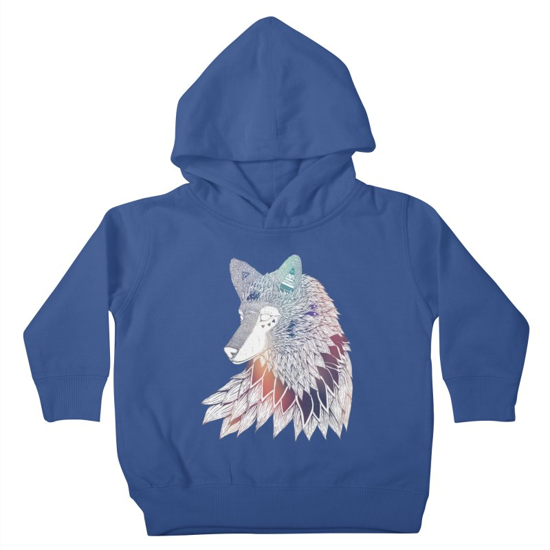 Lone Wolf Kids Toddler Pullover Hoody by Lenny B. on Threadless
