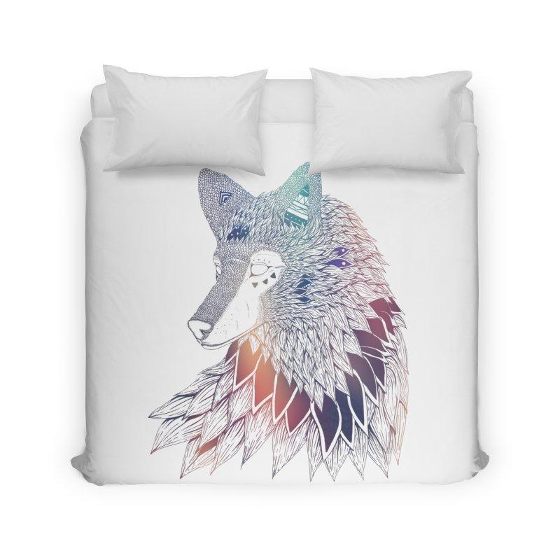 Lone Wolf Home Duvet by Lenny B. on Threadless