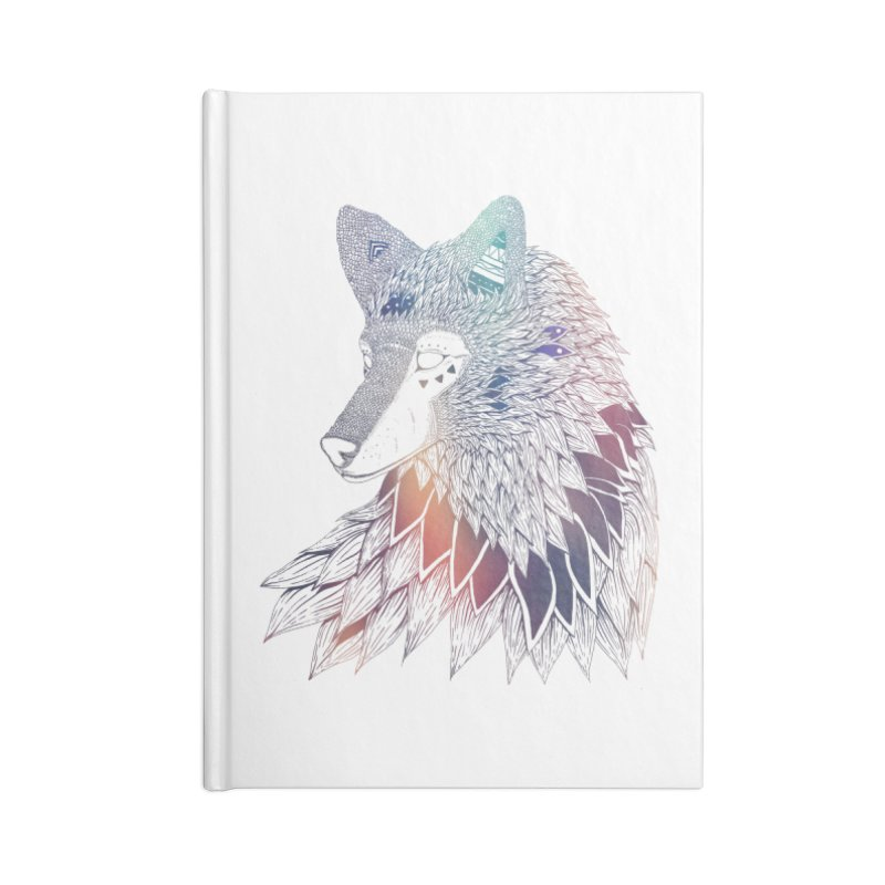Lone Wolf Accessories Notebook by Lenny B. on Threadless