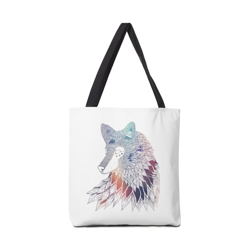 Lone Wolf Accessories Bag by Lenny B. on Threadless