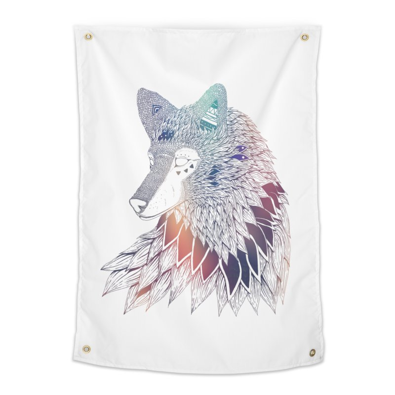 Lone Wolf Home Tapestry by Lenny B. on Threadless