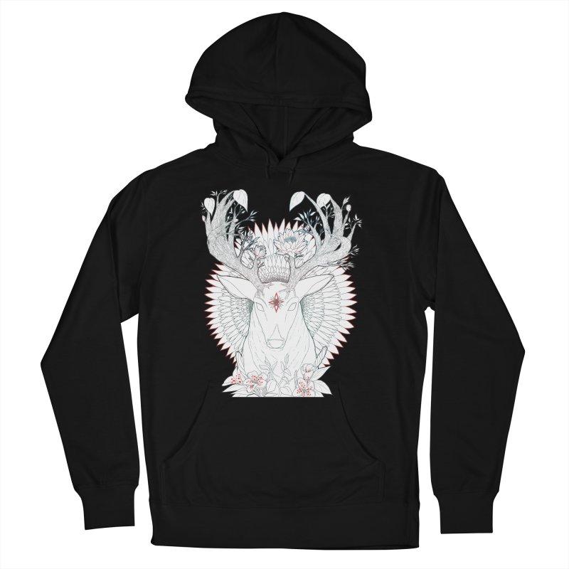 Deer, Oh, Deer Women's Pullover Hoody by Lenny B. on Threadless