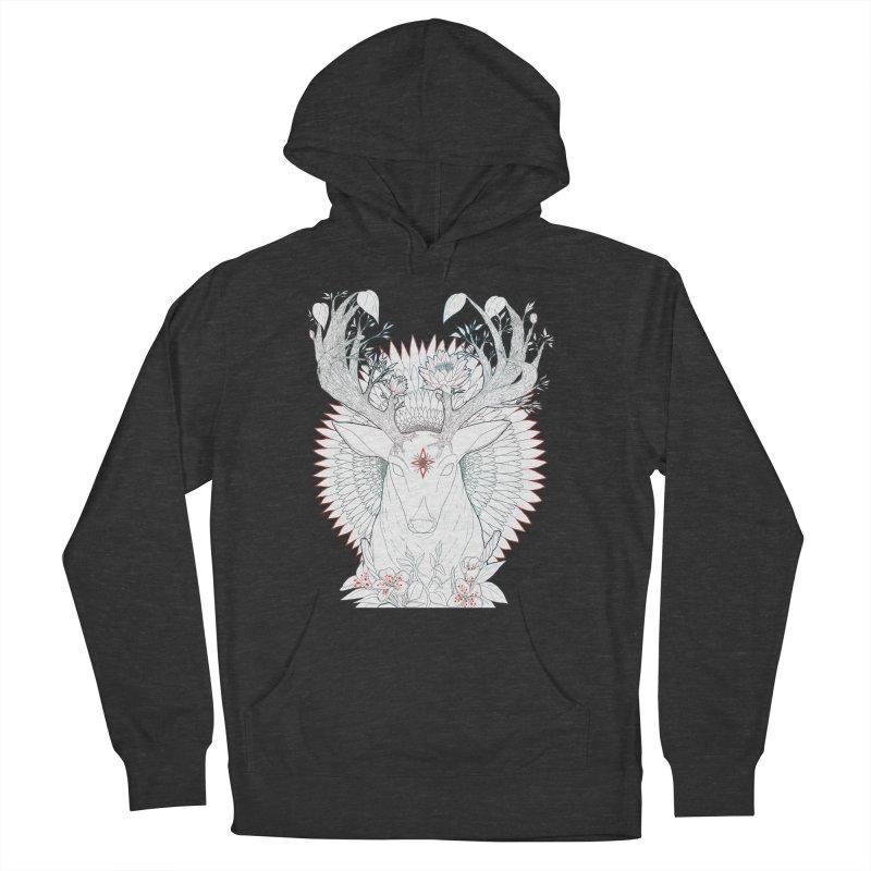 Deer, Oh, Deer Men's Pullover Hoody by Lenny B. on Threadless