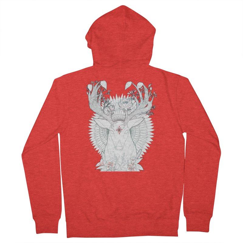 Deer, Oh, Deer Women's Zip-Up Hoody by Lenny B. on Threadless