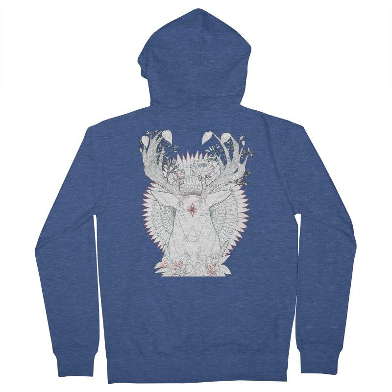 Deer, Oh, Deer Men's Zip-Up Hoody by Lenny B. on Threadless
