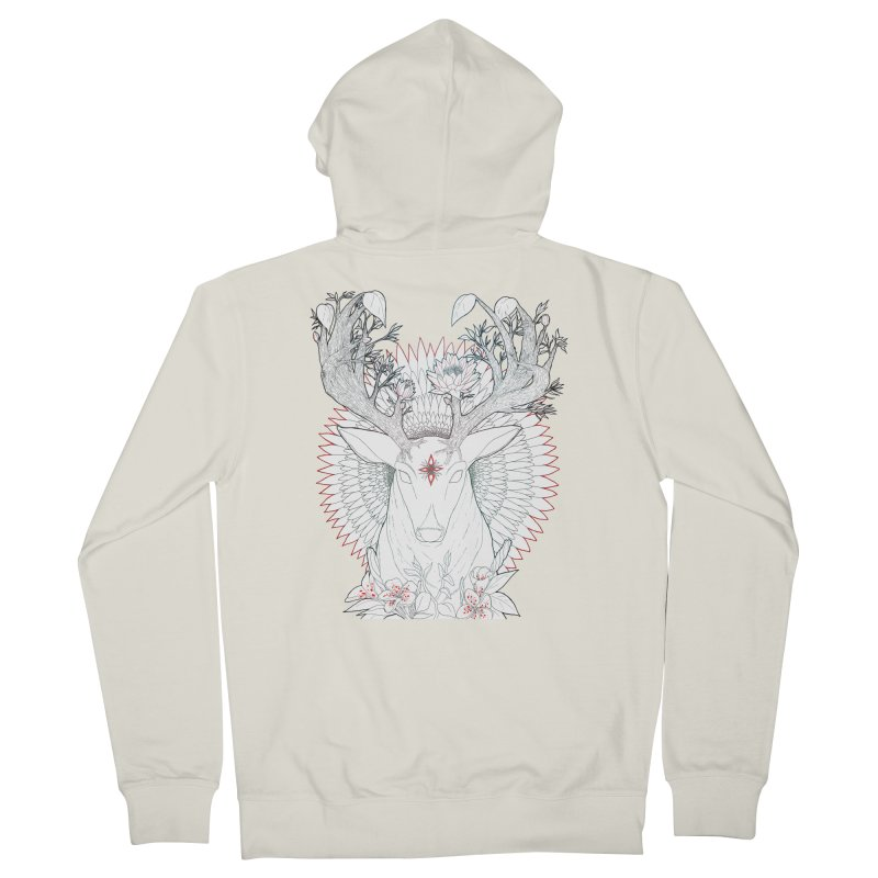 Deer, Oh, Deer Men's Zip-Up Hoody by Lenny B. on Threadless