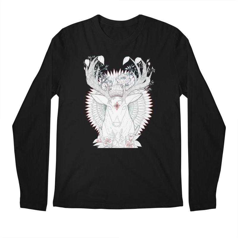 Deer, Oh, Deer Men's Longsleeve T-Shirt by Lenny B. on Threadless