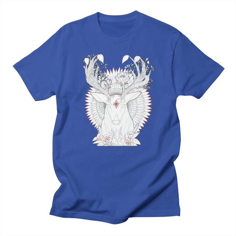 Deer, Oh, Deer Men's Regular T-Shirt by Lenny B. on Threadless